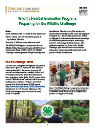 Wildlife Habitat Evaluation Program: Preparing for the Wildlife Challenge