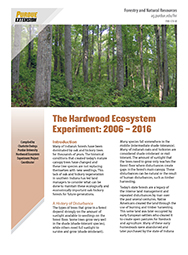 The Hardwood Ecosystem Experiment:  2006-2016