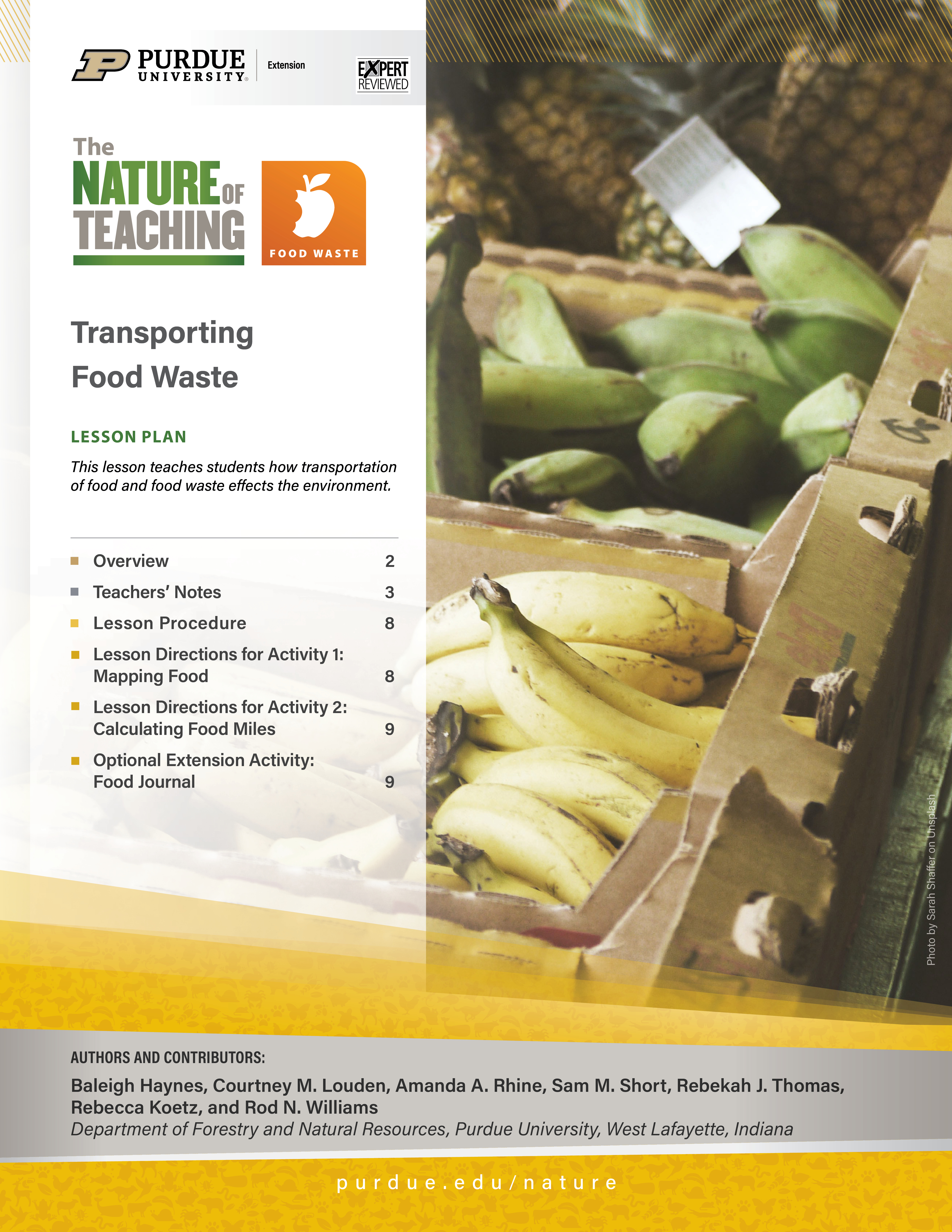 Transporting Food Waste