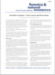 Fish Kills in Indiana--Their Causes and Prevention