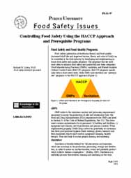 Controlling Food Safety Using the HACCP Approach and Prerequisite Programs