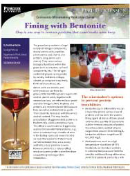 Commercial Winemaking Production Series: Fining with Bentonite