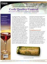 Commercial Winemaking Production Series: Cork Quality Control