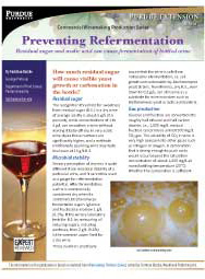 Commercial Winemaking Production Series: Preventing Refermentation