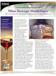 Commercial Winemaking Production Series: Wine Storage Guidelines