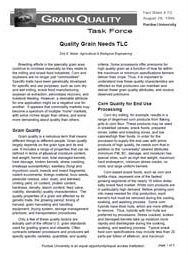 Quality Grain Needs TLC