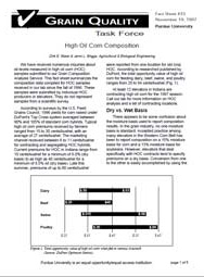 High Oil Corn Composition