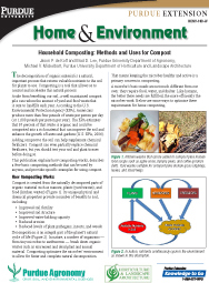 Home and Environment: Household Composting: Methods and Uses for Compost