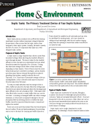 Septic Tanks: The Primary Treatment Device of Your Septic System