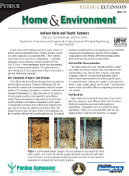 Indiana Soils and Septic Systems
