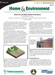 Water Use and Septic System Performance