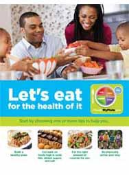 MyPlate: Let's Eat for the Health of It (Bulk 100/pkg)