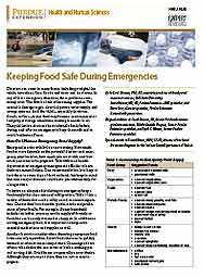 Keeping Food Safe During Emergencies