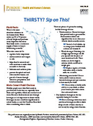 Thirsty? Sip on This!