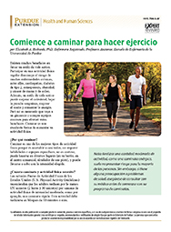 Start Walking for Exercise (Spanish)