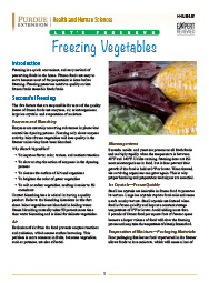 Let's Preserve: Freezing Vegetables