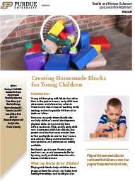Creating Homemade Blocks