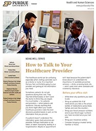 Aging Well: How to Talk to Your Healthcare Provider