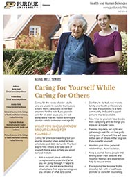 Aging Well: Caring for Yourself While Caring for Others