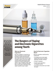 Dangers of Vaping and E-cigarettes Among Youth