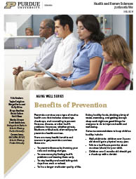 Benefits of Prevention - Aging Well