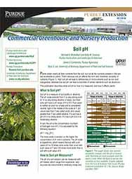 Commercial Greenhouse and Nursery Production: Soil pH