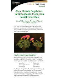 Applying Plant Growth Retardants Pocket Reference