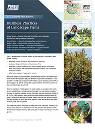 U.S. Landscape Firms Surveys: Business Practices of Landscape Firms