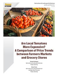 A Comparison of Price Trends Between Farmers Markets and Grocery Stores