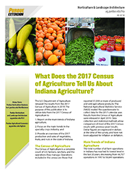 Indiana and the 2017 Census of Agriculture