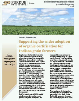 Identifying Barriers to Organic Certification for Indiana Grain Farmers