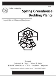 Spring Greenhouse Bedding Plants: Insect, Mite, and Disease Management