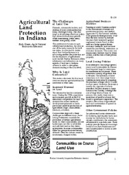 Agricultural Land Protection in Indiana