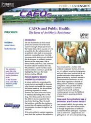 CAFOs and Public Health: The Issue of Antibiotic Resistance