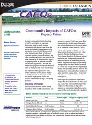 Community Impacts of CAFOs: Property Values