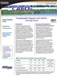 Community Impacts of CAFOs: Growing Trends