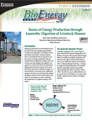 Basics of Energy Production through Anaerobic Digestion of Livestock Manure