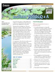 Indiana Ponds Q&A