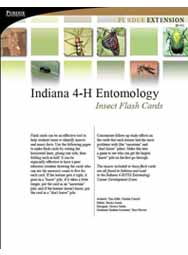 Indiana 4-H Entomology Insect Flash Cards