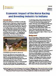 Economic Impact of the Horse Racing and Breeding Industry to Indiana