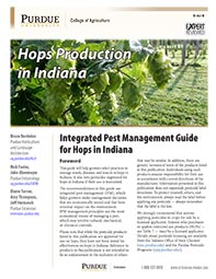 Hops Production in Indiana: Integrated Pest Management Guide for Hops in Indiana