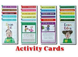 KidsEcon Posters: Activity Cards