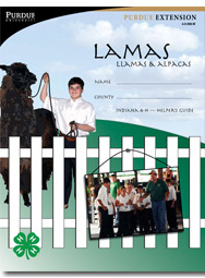 Indiana 4-H Lamas: Llamas & Alpacas, Helper's Guide