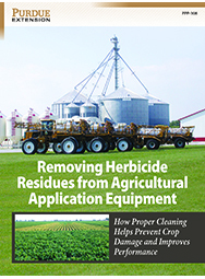 Removing Herbicide Residues From Agricultural Application Equipment