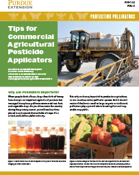 Protecting Pollinators: Tips for Commercial Agricultural Pesticide Applicators
