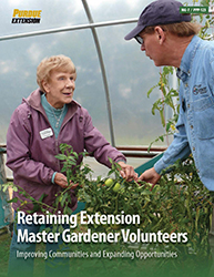 Retaining Extension Master Gardener Volunteers