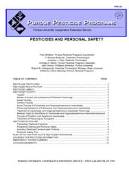 Pesticides and Personal Safety