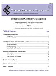 Pesticides and Container Management