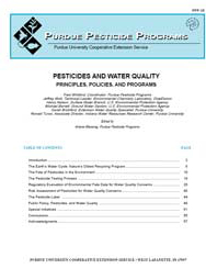 Pesticides and Water Quality: Principles, Policies and Programs
