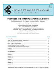 Pesticides and Material Safety Sheets: An Introduction to the Hazard Communication Standard